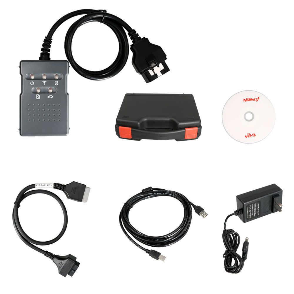 Consult 3 Consult III Plus V75 Auto Diagnostic Tool For Nissan Supports Programming