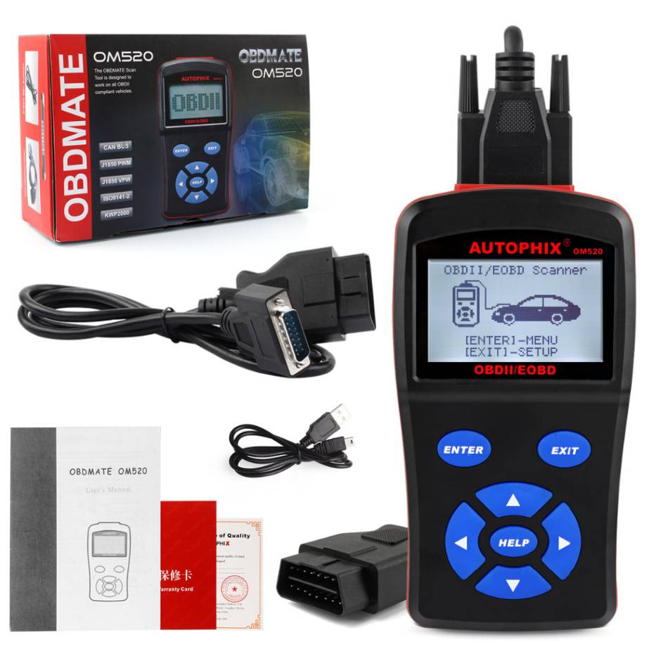 OBDMATE OM520 OBD2 Model Code Reader