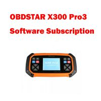 OBDSTAR X300 Pro3 One Year Subscription X300 Pro3 Software Update