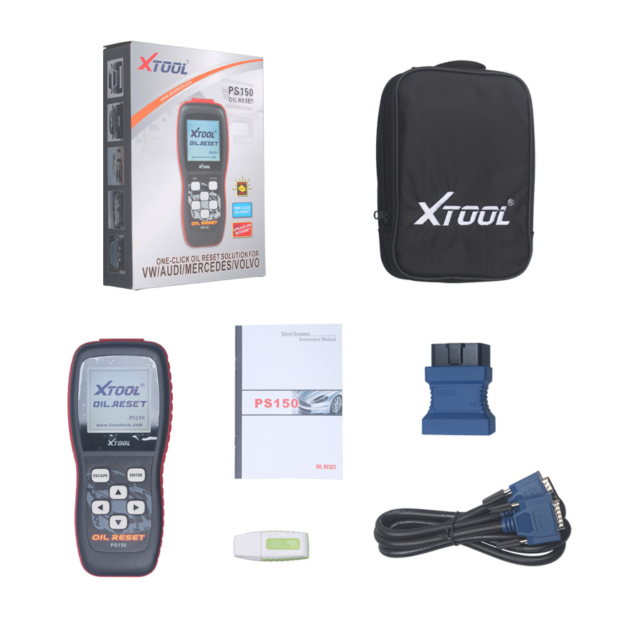 Original Xtool PS150 Oil reset tool obd2 obd ii diagnostic tool PS 150 Odometer correction tool service reset tool