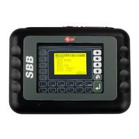 SBB Key Programmer V33 Version Immobilizer Programming Tool Auto Diagnostic Key Programmer