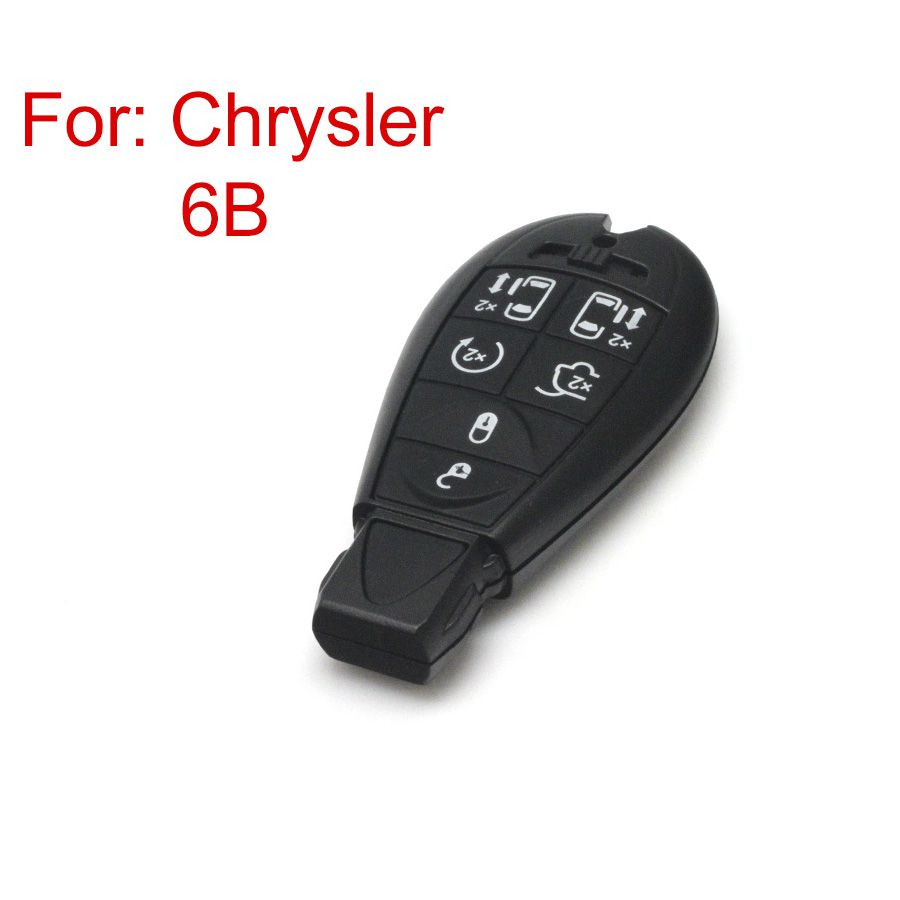 Smart Key Shell 6 Button for Chrysler