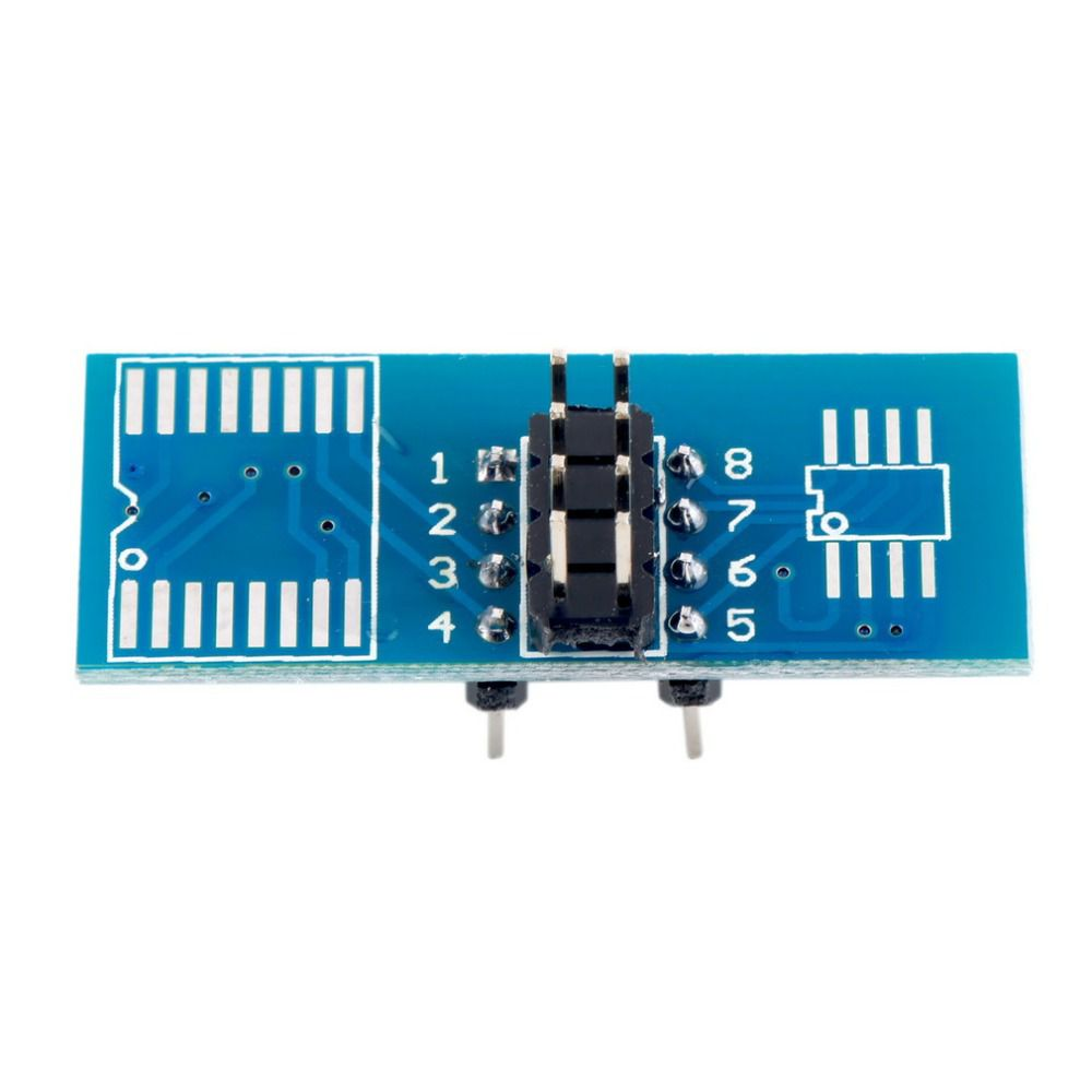 SOIC8 SOP8 Test Clip For EEPROM 93CXX/25CXX/24CXX in-circuit programming on USB Programmer TL866CS TL866A EZP2010