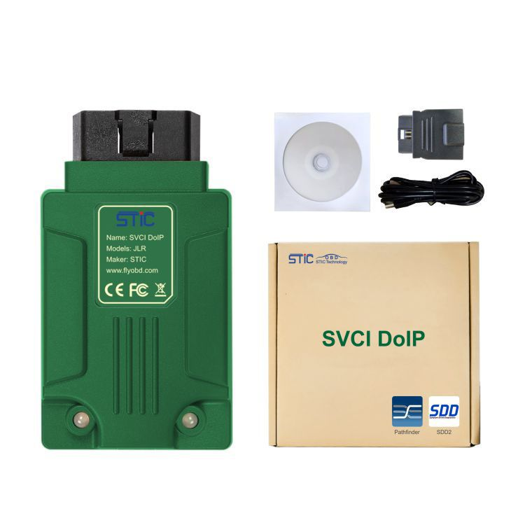 SVCI DoIP JLR Diagnostic Tool with PATHFINDER & JLR SDD V156 for Jaguar Land Rover 2005-2019 with Online Programming Function