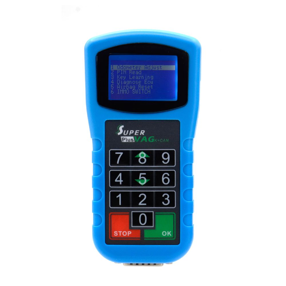2019 Latest Super VAG K+CAN Plus 2 0 Diagnosis + Mileage Correction + Pin  Code Reader Super VAG K+CAN Plus