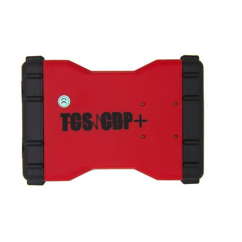 Promotion 2015.3 New TCS CDP+  Auto Diagnostic Tool Red Version With Bluetooth