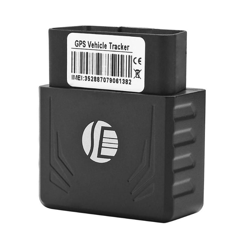 TK306 OBD GPS Tracker Car OBD2 16Pin Interface Real Time GPS GSM Vehicle Tracking Device  Locator Mobile Alarm GPS Trackers