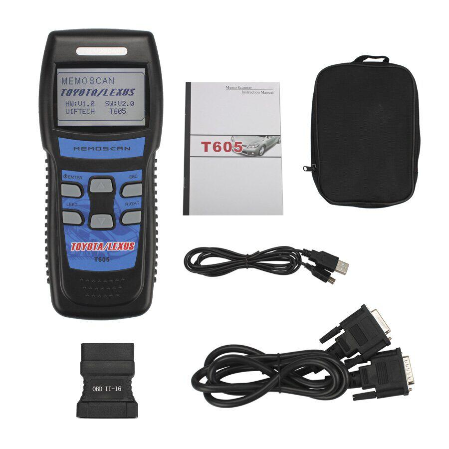 Memoscan T605 Auto OBD2 Fault Code Reader for TOYOTA/LEXUS