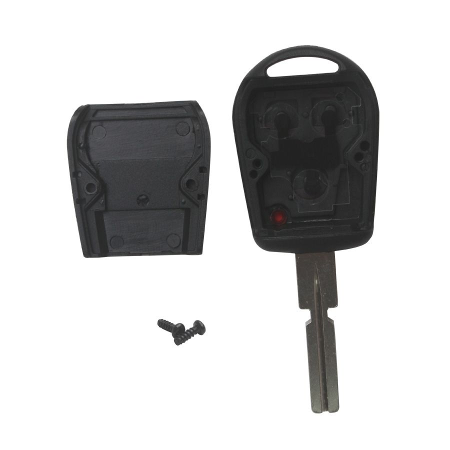 Transponder Shell 3-button 4 Track (with Plastic Mat) for BMW 5pcs/lot