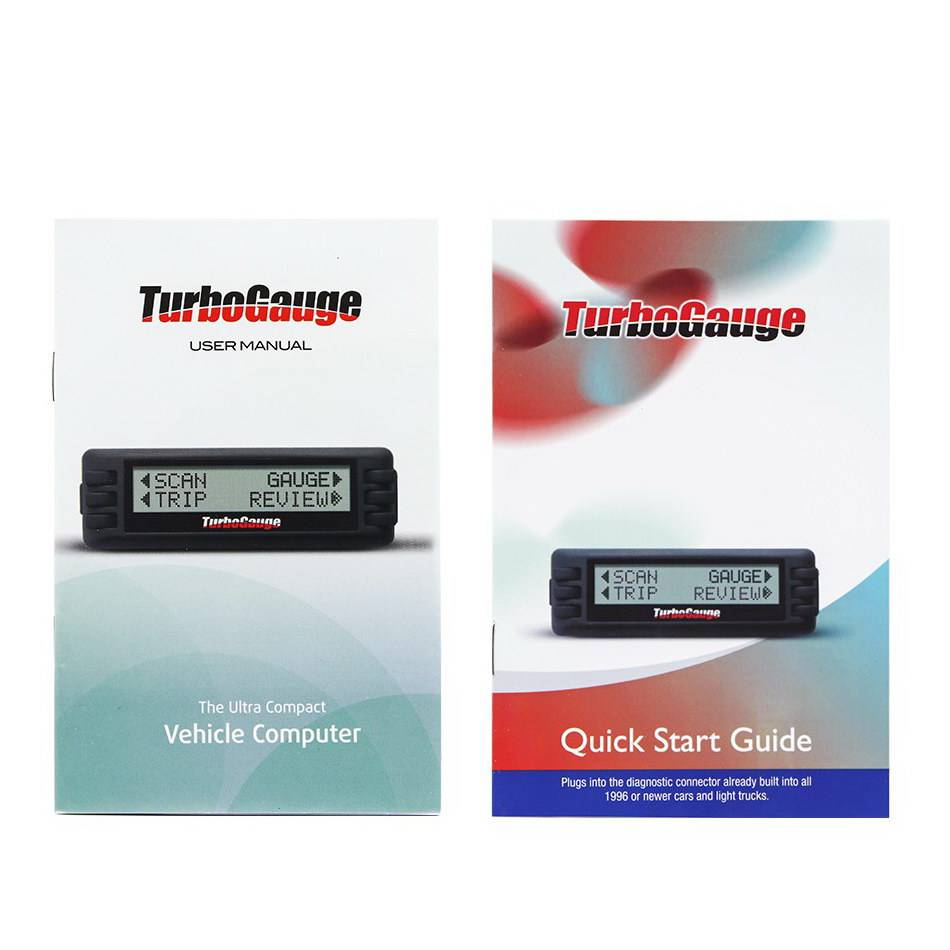 Newest TurboGauge IV Auto Computer Scan Tool Digital Gauge 4