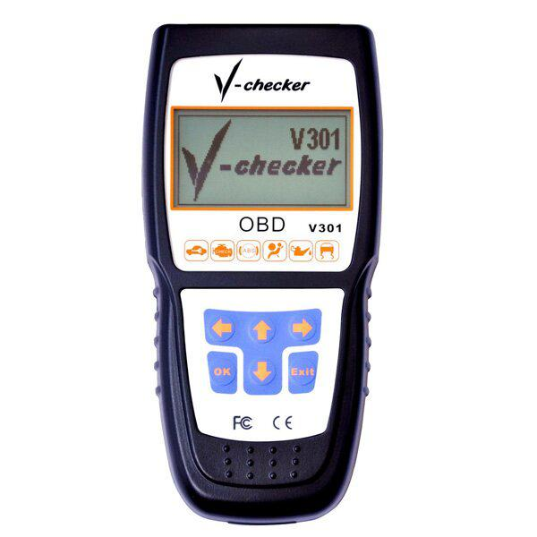 V CHECKER V301 CANBUS Code Reader Spanish