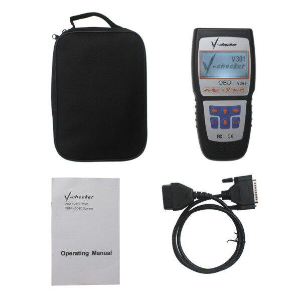 V-CHECKER V301 OBD2 Professional CANBUS Code Reader