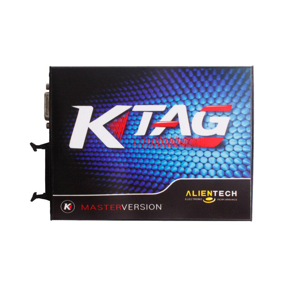 V2.13 FW V6.070 KTAG K-TAG ECU Programming Tool Master Version with Renew Button Unlimited Token