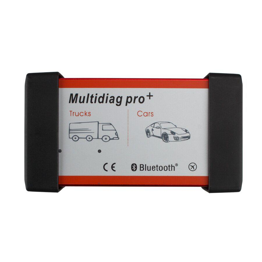 V2017.01 New Design Multidiag CDP+ for Cars/Trucks and OBD2 with Bluetooth and 4GB Memory Card