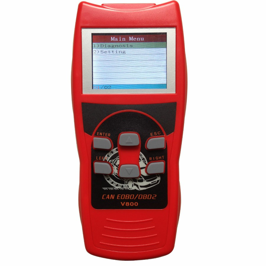 V801 Vag Auto Scanner for Vw/Audi/Seat/Skoda On Live Data/Oil Reset/Airbag Reset