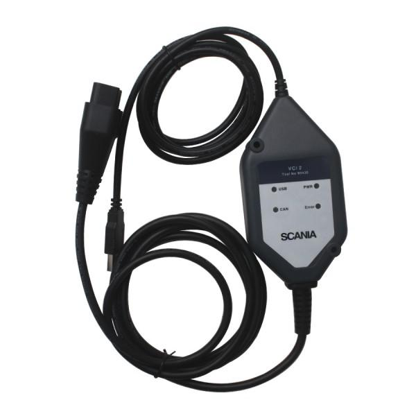 Scania VCI2 Diagnostic Tool with Scania SDP3 V2.45 For Scania Truck Newest Version Multi-language