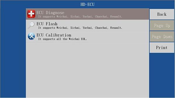 VDSA-HD EDC17 ECU Specification Diagnostic Scanner Function List