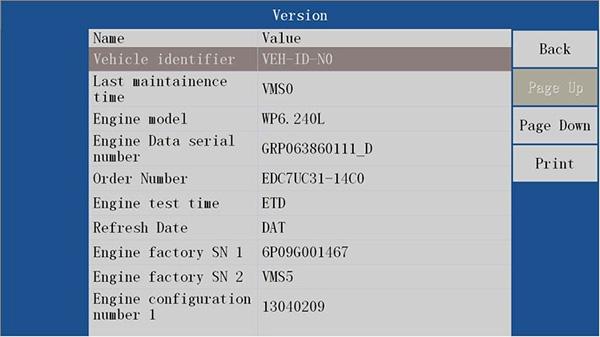 VDSA-HD EDC17 ECU Specification Diagnostic Scanner 1