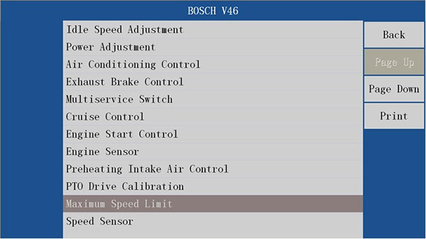 VDSA-HD EDC17 ECU Specification Diagnostic Scanner 8