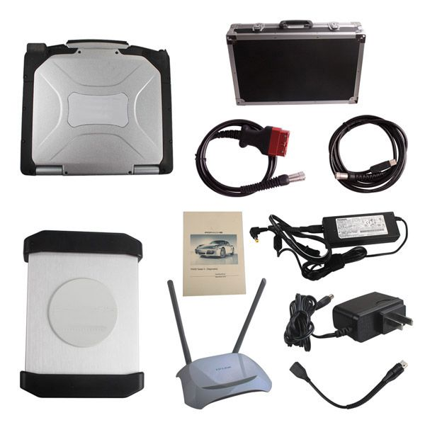 V18.1 WIFI Version PIWS2 Tester II Diagnostic Tool  PiwsII for Porsche With Panasonic CF30 Laptop