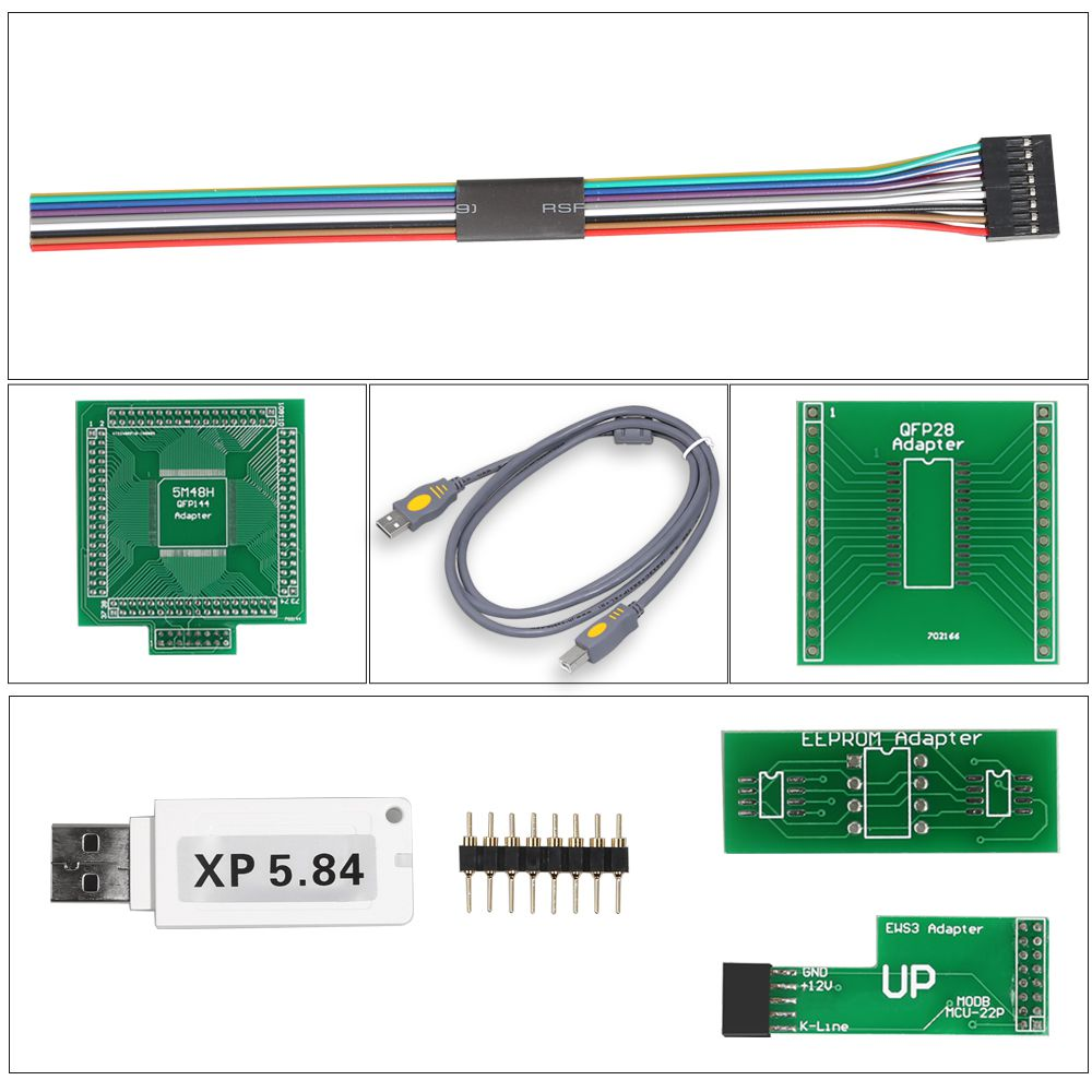 XPROG-M  X-PROG Box ECU Programmer XPROG-M V5.84 with USB Dongle