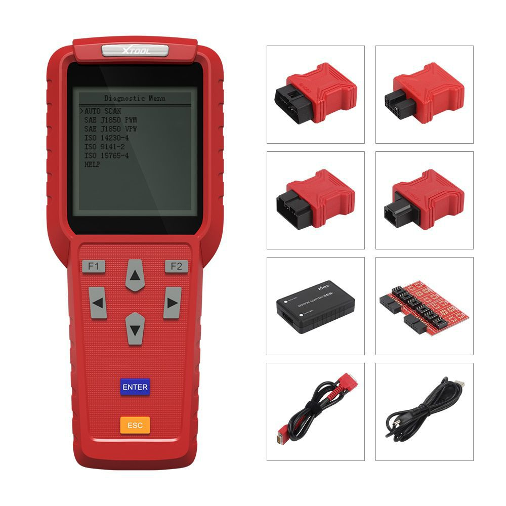 XTOOL X100 Pro Professional Auto Key Programmer and Mileage adjustment Odomete Work for most of car models