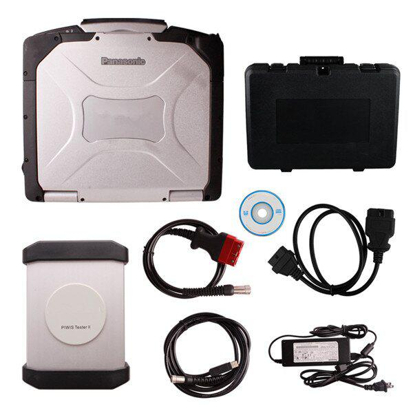Yanhua Piwis Tester II For Porsche With CF30 Laptop Update Free Install Well Before Ship V16.2 DHL FREE SHIP