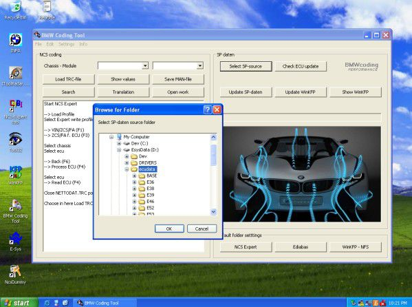 BMW ICOM A2+B+C with Software Display 8