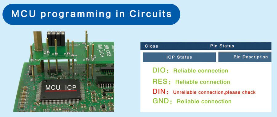 MCU programming in Circuits