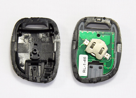 1 button pcb board for renault