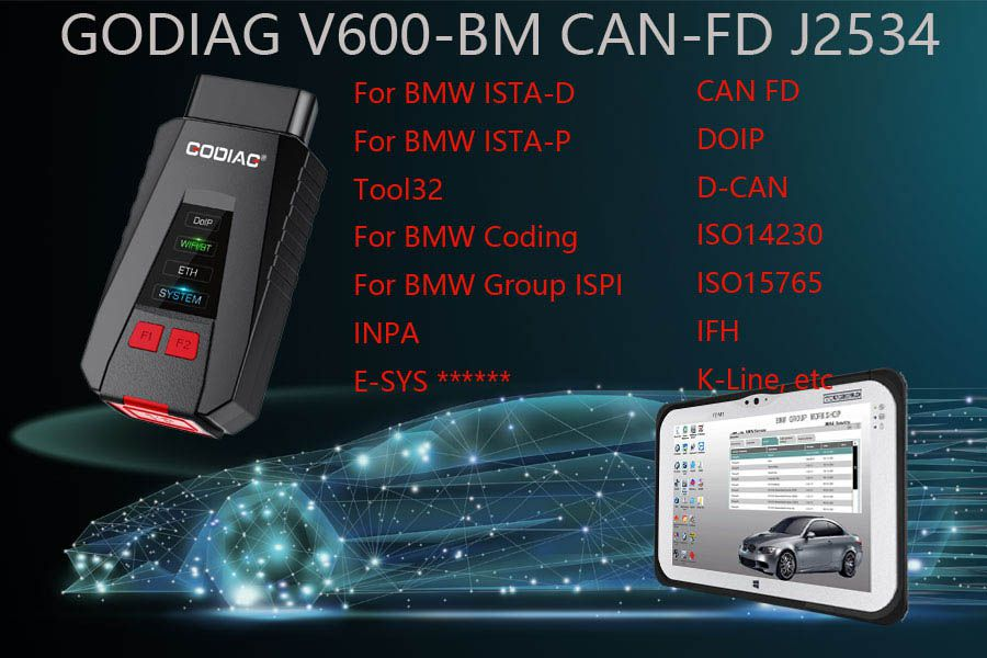GODIAG V600-BM BMW Diagnostic and Programming Tool