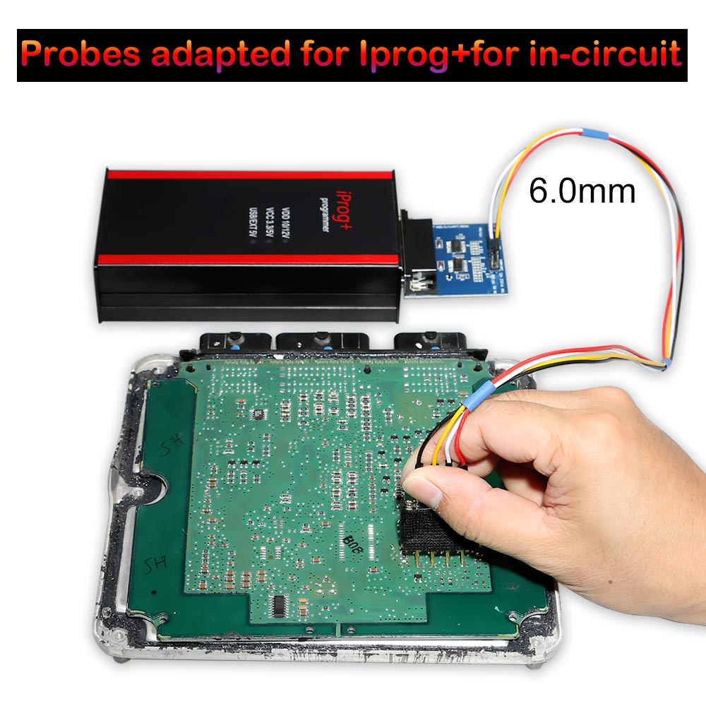 Probes Adapters for in-circuit ECU