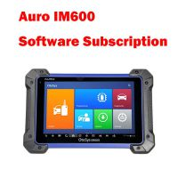 1 Year Software Subscription for Auro OtoSys IM600 Diagnostic Key Programming and ECU Coding Tool