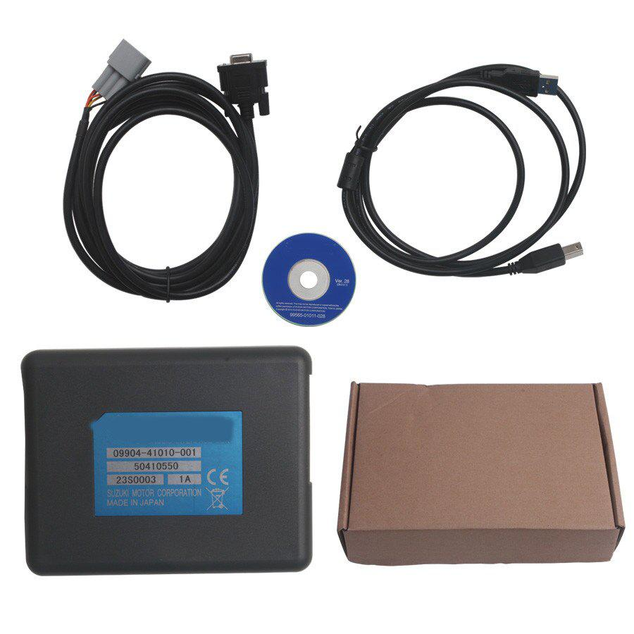 SDS For Suzuki Motorcycle Diagnosis System With Multi Language Support