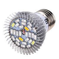 New 28W E27 LED Grow Lamp Flower Seed Plants Hydroponic Grow Light Lamp Bulb Full Spectrum Plant Light Lighting