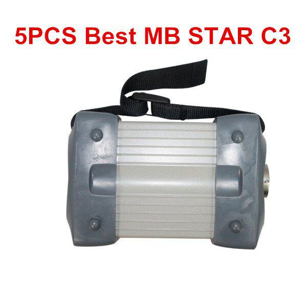 5PCS Best Quality MB Star C3 Pro for Benz Trucks & Cars Update to 2014.09