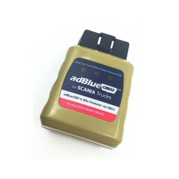 Adblue OBD2 Emulator for SCANIA Trucks Plug and Drive Ready Device by OBD2