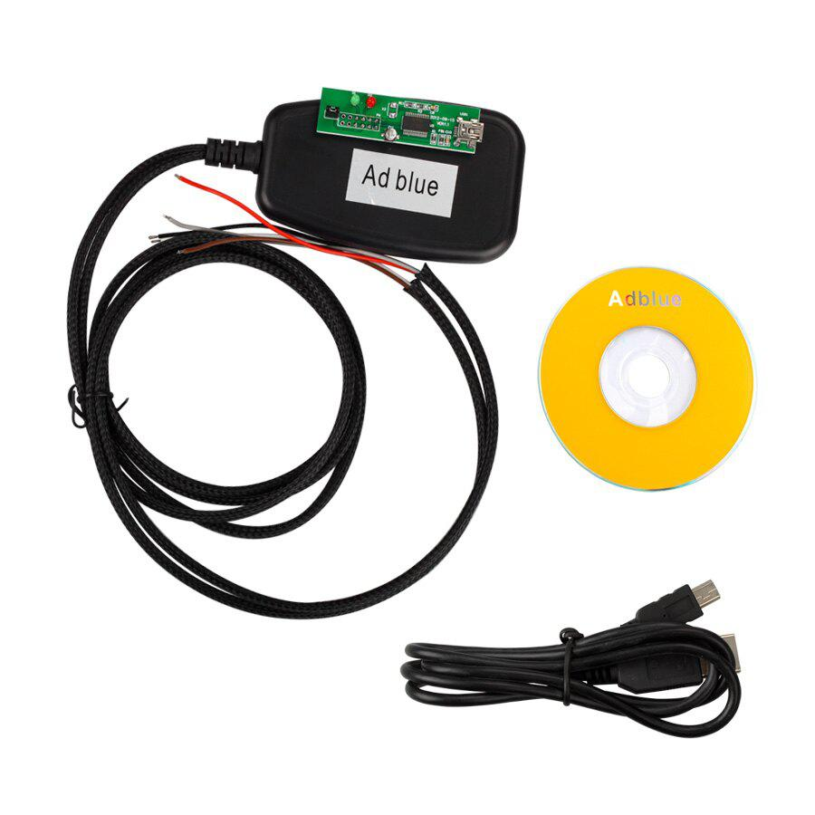 New Adblueobd2 Emulation Module/Truck Adblueobd2 Remove Tool 7 in 1 Quality B for Mercedes-Benz, MAN, Scania, Iveco, DAF, Volvo and Renault