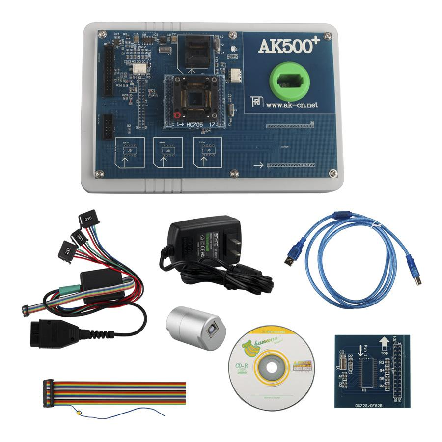 AK500+ Key Programmer For Mercedes Benz With EIS SKC Calculator