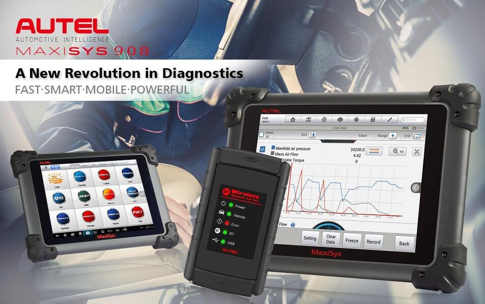 AUTEL MaxiSys MS908 MaxiSys Diagnostic System