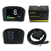 AUTOOL X50 Plus Multi-Function Car OBD Smart Digital Meter + Alarm Fault Code Water Temperature Gauge Digital Voltage Speed Meter Display