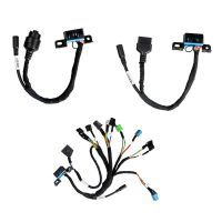 New Set of BENZ EIS/ESL Cables+7G Cable+ISM + Dashboard Connector for VVDI MB Tool Free Shipping