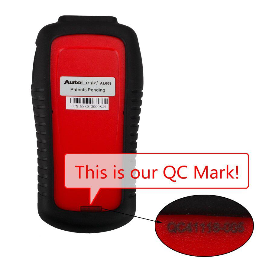 Best Autel AutoLink AL609 ABS CAN OBDII Diagnostic Tool Diagnoses ABS System Codes Internet Updatable