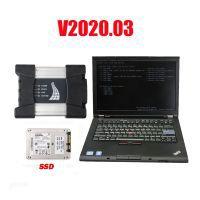 V2020.08 BMW ICOM Next A+B+C Diagnosis with Second Hand Lenovo T410 Laptop I5 CPU 4GB No Needs Activation