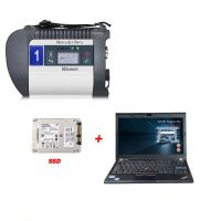 DOIP MB SD C4 PLUS Connect Compact C4 Star Diagnosis with 2020.10Software SSD Plus Lenovo X220 I5 4GB Laptop