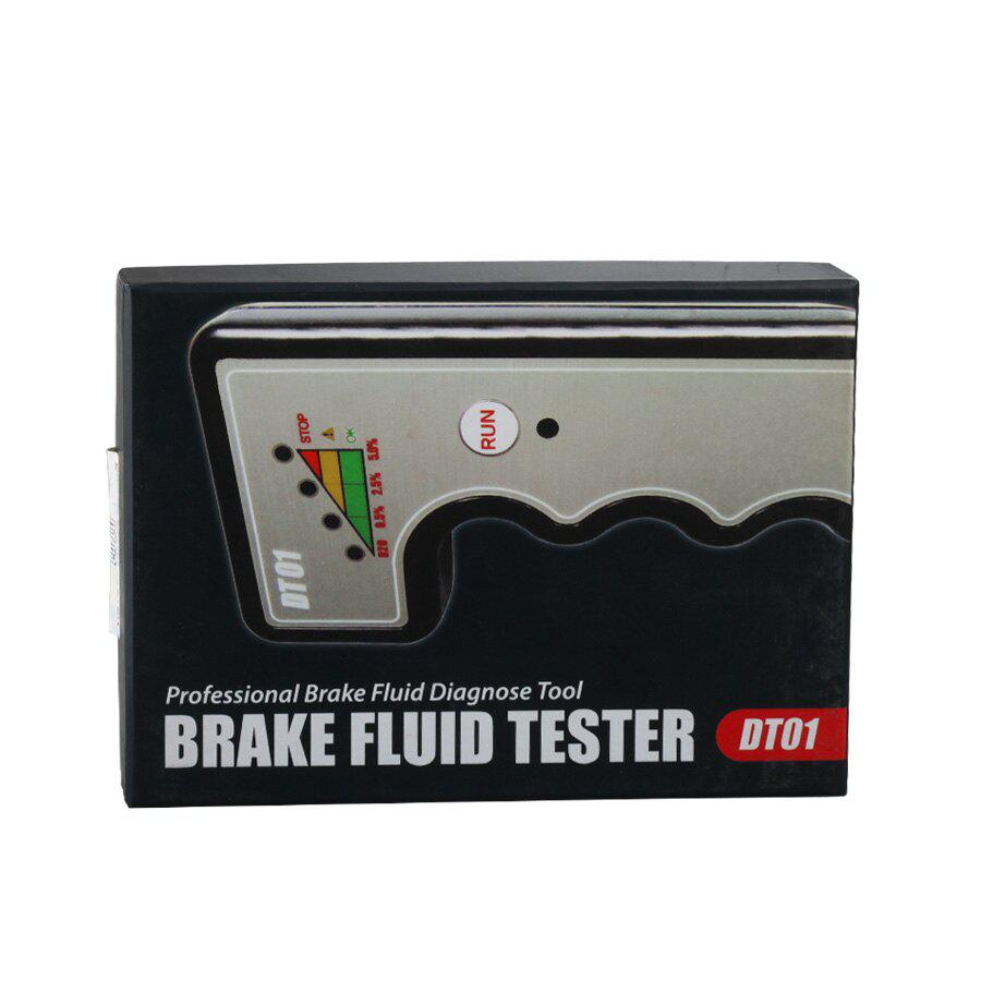 DT01 Brake Fluid Tester Professional Brake Fluid Diagnose Tool