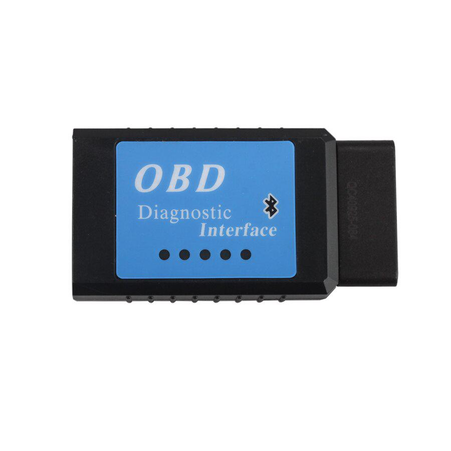 ELM327 Bluetooth Version CAN BUS EOBD OBDII Scan Tool Software V2.1