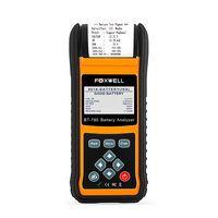 FOXWELL BT780 12V Battery Tester 0-1000A Car AGM GEL EBP Batteries Analyzer Built-in Printer 12V-24V Starting Charging System