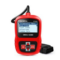 FOXWELL NT200C OBD2 OBDII Automotive Scanner Engine Code Reader Sensor Freeze Frame OBD 2 Car Diagnostic Tool Better than ELM327