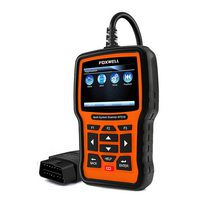 FOXWELL NT510 Full System OBD2 Scanner ABS SAS AT SRS Airbag Crash Date Reset DPF Battery Registration OBD 2 Car Diagnostic Tool